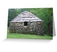 Stone Hut on Cape Breton Island Greeting Card