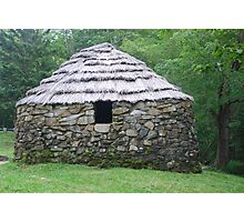 Stone Hut on Cape Breton Island Photographic Print