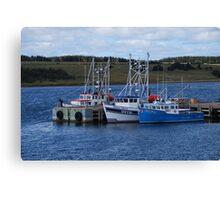 Cape Breton Fishing Vessels Canvas Print