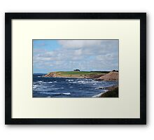 Captivating Cape Breton Coastline Framed Print