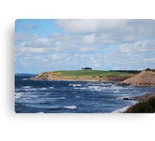 Captivating Cape Breton Coastline Canvas Print