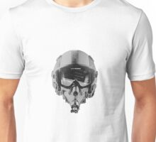 Fighter Pilot Helmet With Altimeter Unisex T-Shirt