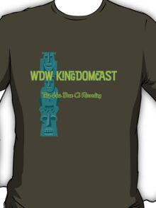 Kingdomcast Tiki logo T-Shirt