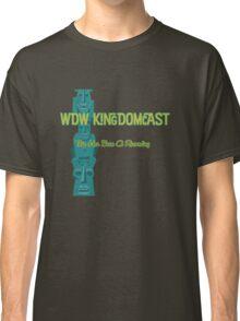 Kingdomcast Tiki logo Classic T-Shirt