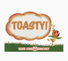 Kingdomcast Orange Bird Toasty logo by wdwkingdomcast