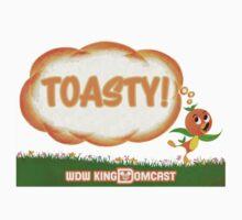 Kingdomcast Orange Bird Toasty logo by wdwkingdomcast