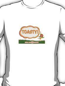 Kingdomcast Orange Bird Toasty logo T-Shirt