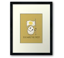 anthem of eggs Framed Print