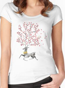 King of the forest Women's Fitted Scoop T-Shirt