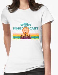 Kingdomcast Vintage logo Womens Fitted T-Shirt
