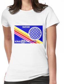 Kingdomcast Vintage EPCOT logo Womens Fitted T-Shirt