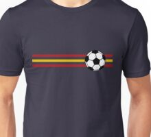 Football Stripes Spain Unisex T-Shirt