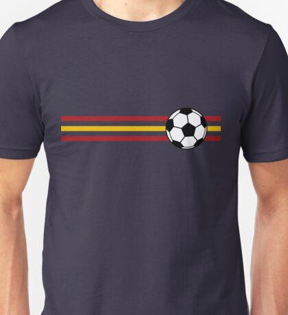 Football Stripes Spain Unisex T-Shirt