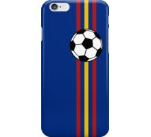 Football Stripes Spain iPhone Case/Skin