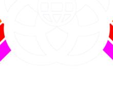Kingdomcast Future World logo Sticker