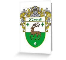 O'Connell Coat of Arms/Family Crest Greeting Card