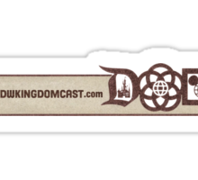 Kingdomcast Banner logo Sticker