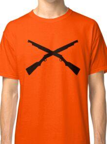 shotgun crossed video game Classic T-Shirt