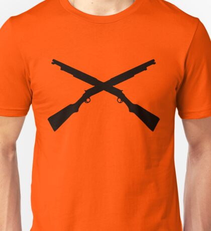 shotgun crossed video game Unisex T-Shirt