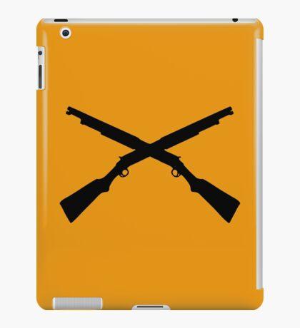 shotgun crossed video game iPad Case/Skin