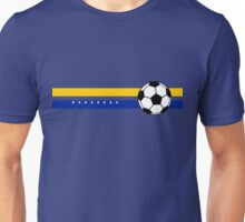 Football Stripes Bosnia And Herzegovina Unisex T-Shirt