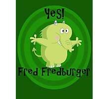 Fredfred burger Photographic Print