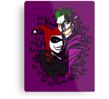 Joker and Harley Metal Print