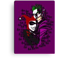Joker and Harley Canvas Print