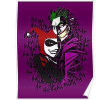 Joker and Harley Poster