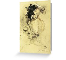 Hommage à Rubens I Greeting Card