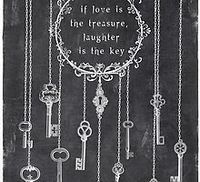 the key is laughter by Sybille Sterk