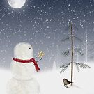 Christmas Thank You by Maria Dryfhout