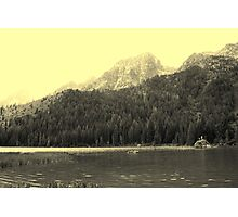 Enjoying String Lake Photographic Print