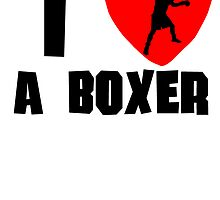I Heart A Boxer by kwg2200