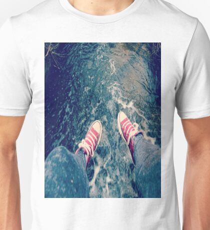 CONvERSE and WAtER Unisex T-Shirt
