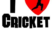 I Heart Cricket by kwg2200