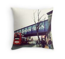 camden town Throw Pillow
