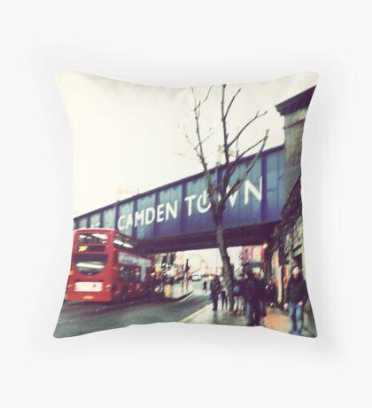 camden town Throw Pillow