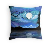 Reflected Dream - by Angieclementine Throw Pillow