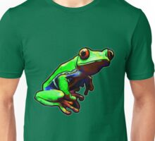 Frog - Red-Eyed Tree Frog - Tropical Rainforest  Unisex T-Shirt