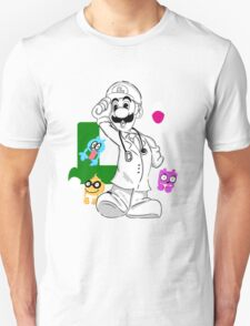 DR Luigi Unisex T-Shirt