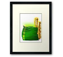 Arab money Framed Print