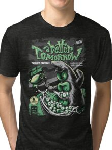 YUMMY TENTACLE CEREALS! Tri-blend T-Shirt
