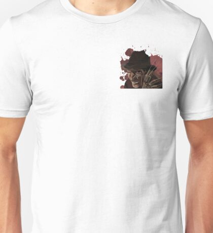 Freddy Krueger A Nightmare on Elm Street Unisex T-Shirt
