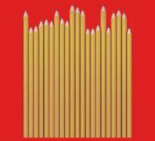 Pencil row One Piece - Short Sleeve