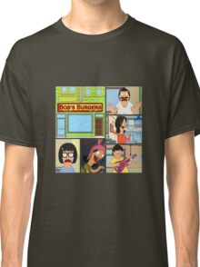 Bobs Burgers Collage Classic T-Shirt
