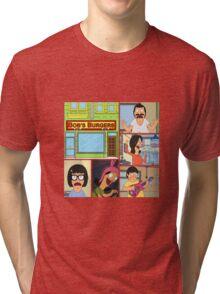 Bobs Burgers Collage Tri-blend T-Shirt