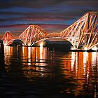 The Forth Rail Bridge by Debbie Jew