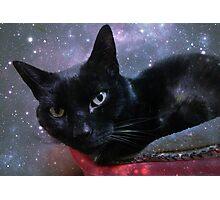 Got A Black Magic Puss Cat Photographic Print