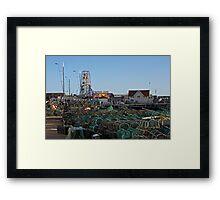 Fishing Equipment. Framed Print